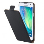 Galaxy A7 beskyttelses cover Sort