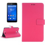 Xperia E4 beskyttelses cover Magenta