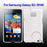 Galaxy S2 beskyttelses cover Hvid