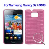 Galaxy S2 beskyttelses cover Pink