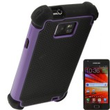 Galaxy S2 beskyttelses cover Lilla