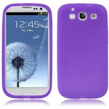 Galaxy S3 beskyttelses cover Lilla