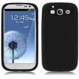 Galaxy S3 beskyttelses cover Sort