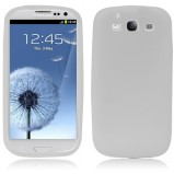 Galaxy S3 beskyttelses cover Hvid