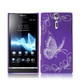 Xperia S beskyttelses cover Lilla