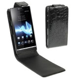 Xperia P beskyttelses cover Sort