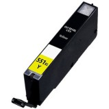 CLI-551 XL Y til Canon - Gul - Yellow