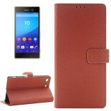Xperia M5 beskyttelses cover Brun