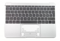 Top cover med tastatur til MacBook A1534 2016-2017