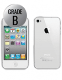 iPhone 4, 8GB, Grade B, Hvid , Refurbished
