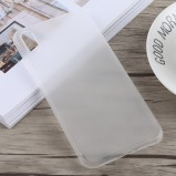 iPhone XS Max hvid ultra tyndt plastikcover