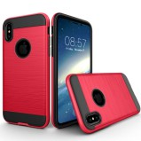 iPhone X-XS beskyttelses cover Rød