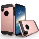 iPhone X-XS beskyttelses cover Rose gold
