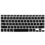 Silikone keyboard til MacBook Pro Unibody 13, 15 og 17  (Sort)