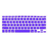 Silikone keyboard til MacBook Pro Unibody 13, 15 og 17 (Lilla)